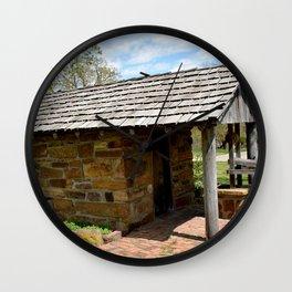 Prairie Grove Battlefield - The Latta Homestead, Established in 1834, No. 4 of 5 Wall Clock
