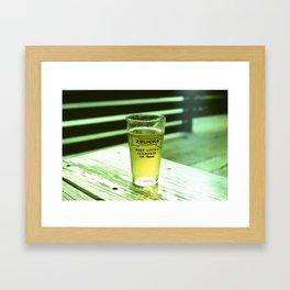 Best Little Icehouse in Texas Framed Art Print