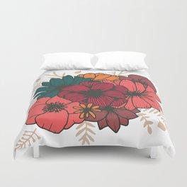 Bohemian Bouquet Duvet Cover