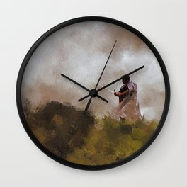 The Knight of Christ Wall Clock