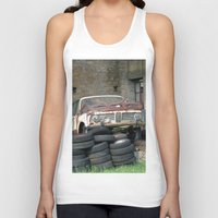 bmw Tank Tops featuring Old BMW Wreck by Premium