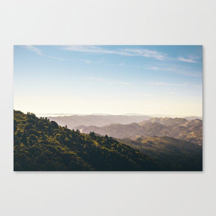 Mt. Tam Canvas Print