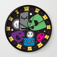 poker Wall Clocks featuring poker by justine