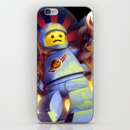 The Deadly Spaceman iPhone Skin