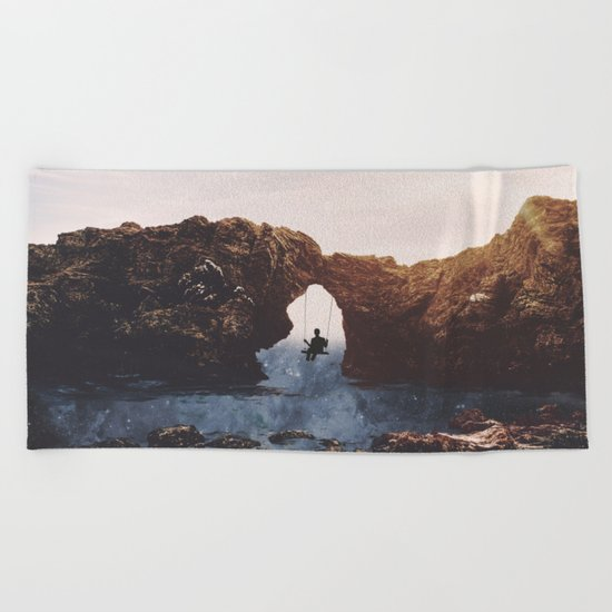 PLAYGROUND UNIVERSE Beach Towel