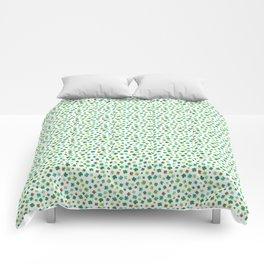 Lucky Watercolor Clovers Comforters