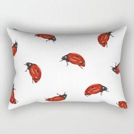 Ladybug Pattern Rectangular Pillow
