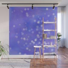 Purple Flurry Wall Mural