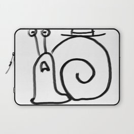 Confuse a Snail Laptop Sleeve