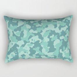 Camouflage Cascade Rectangular Pillow
