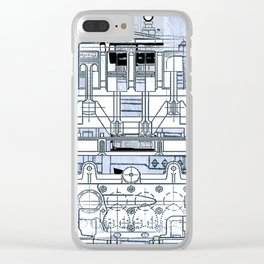 Bells & Whistles 2 Clear iPhone Case