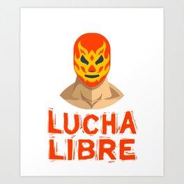 Lucha libre, Mexican Wrestling, Luchador Mask Art Print