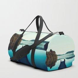 Gloomy dock Duffle Bag