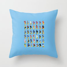 the captains Throw Pillow