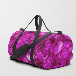 Small sparkling Pebbles G Duffle Bag