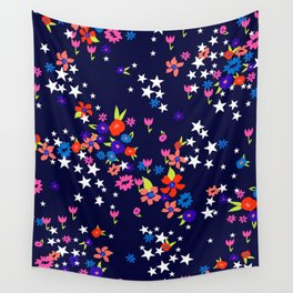 star floral Wall Tapestry