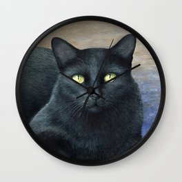 Cat 621 Wall Clock
