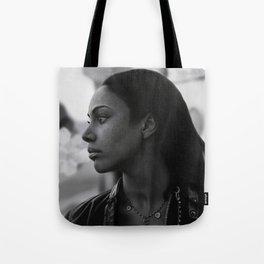 Woman in Harlem Tote Bag
