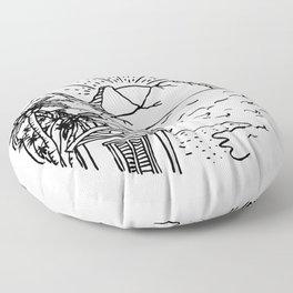 My Dream House Floor Pillow