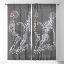 Bad To The Bone Sheer Curtain