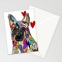 German Shepherd Love Stationery Cards
