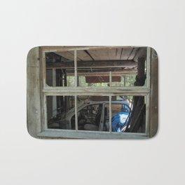 Window - Abondoned Places Bath Mat