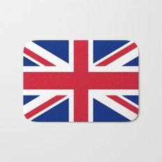 UK FLAG - The Union Jack Authentic color and 3:5 scale  Bath Mat