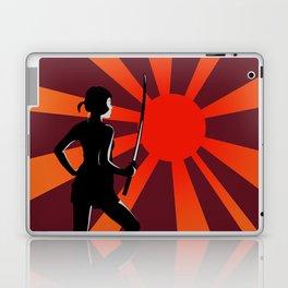 Warrior at Sunset Laptop & iPad Skin