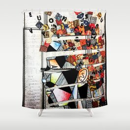The6 Shower Curtain