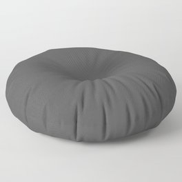 Plain Charcoal Grey to Coordinate with Simply Design Color Palette Floor Pillow