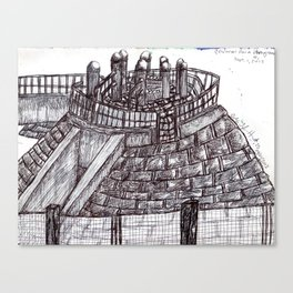 playpen at Central Park West 59th street Canvas Print