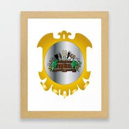 Guild of Brewers Framed Art Print