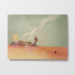 This Desert Is A Wasteland Metal Print