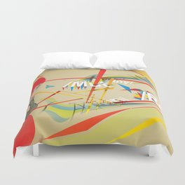 Abstractionist – Mutiny Duvet Cover