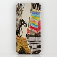 The Princess meets The Great Auk iPhone & iPod Skin