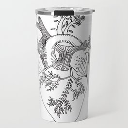 Growing heart Travel Mug