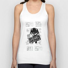 Synth Unisex Tank Top