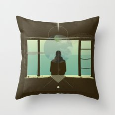 Staring at the sun #everyweek 6.2017 Throw Pillow