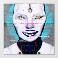 glados Canvas Prints featuring Still Alive by humau