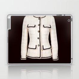 coco vintage black and white jacket Laptop & iPad Skin