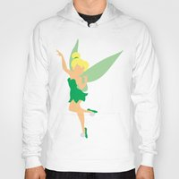 tinker bell Hoodies featuring Tinker bell by Dewdroplet