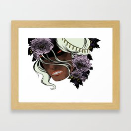 White as Milk, Red as Blood: Witch Framed Art Print