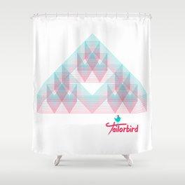 Triangle Trifecta Shower Curtain