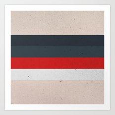 COLOR PATTERN - TEXTURE Art Print