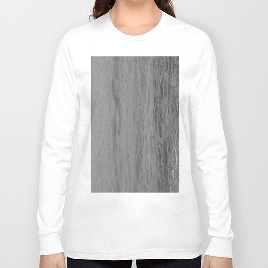 WATER LIKE MARBLE. Long Sleeve T-shirt