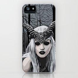 Wild witch iPhone Case
