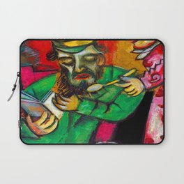 Marc Chagall Spoonful of Milk Laptop Sleeve