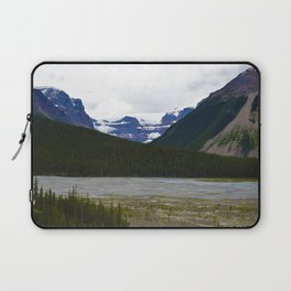 Stutfield Glacier along the Icefields Parkway  in Jasper National Park, Canada Laptop Sleeve