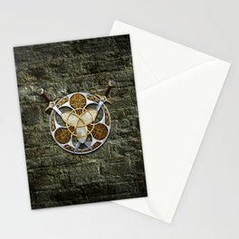 Celtic Shield and Swords Stationery Cards
