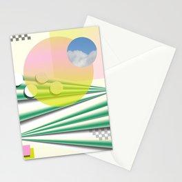 Peach Sky Stationery Cards